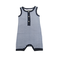 C4031 Checked Sunsuit