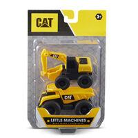 CAT Little Machines DumpTruck/Excavator
