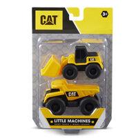 CAT Little Machines Dump Truck/Wheel Loader