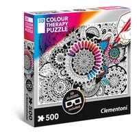 CLEMENTONI 3D MANDALA 500 PIECE