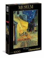 CLEMENTONI - 1000 PIECE - VAN GOGH CAFE TERRACE AT NIGHT