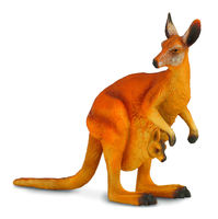 Red Kangaroo & Joey (L) CO88302