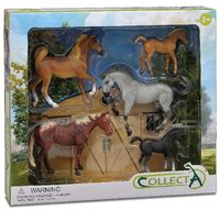 CO89529 Horse 5pce Gift Set