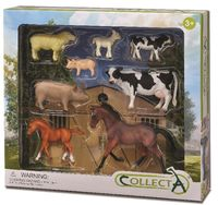 CO89696 Farm 8 pce Gift Set