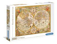 Clementoni Ancient map - 2000 pcs - High Quality Collection COD. 32557