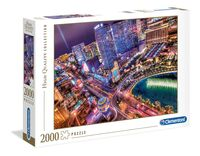 Clementoni Las Vegas - 2000 pcs - High Quality Collection