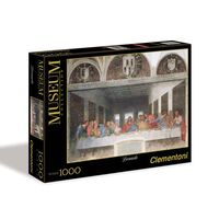 Clementoni Museum Collection Leonardo - The Last Supper 1000pc Jigsaw Puzzle