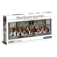 Clementoni Panorama Puzzle Beagles 1000Pcs
