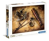 Clementoni jigsaw puzzle Course to the Treasure 1500 pieces
