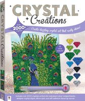 Crystal Creations: Proud Peacock