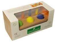 Discoveroo: Peg n' Ball Smackeroo Wooden Toy