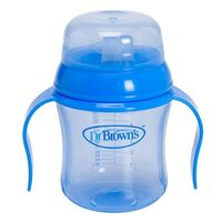 Dr Brown's 170ml Soft Spout Training Cup - Blue