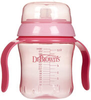 Dr Brown's 170ml Soft Spout Training Cup - Pink