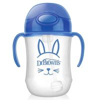 Dr Brown's Baby's 1st Straw Cup - Blue