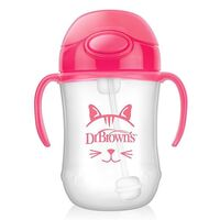 Dr Brown's Baby;s 1st Straw Cup - Pink