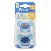 Dr Brownand39s PreVent Pacifier 2pk  PV12001B