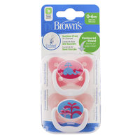 Dr Brownand39s PreVent Pacifier 2pk  PV12001P