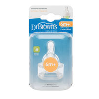 Dr Brownand39s Teats 2Pk  Narrow