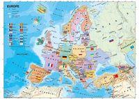 Eurpoean Map 200pc