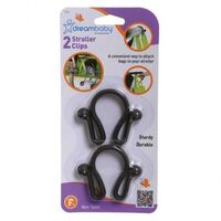 F270 Dreambaby Stroller Clip - 2 Pieces