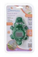 F322 Room and Bath Thermometer - Crocodile