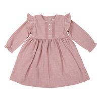 Fine Cable Dress - Pink - C1722P