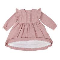 Fine Cable Dress  Pink  C1722P