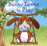 Finger Puppet Book - Bunny Loves to Play