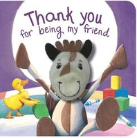 Finger Puppet Book - Thank you for being my Friend