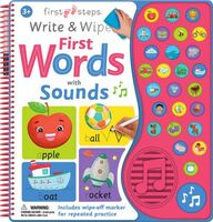 First Steps -Write and Wipe First Words with Sound
