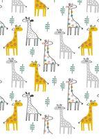 Georgie Giraffe Muslin Wrap