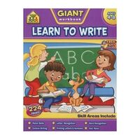 Giant Work Book Learn To Write