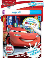 Inkredibles Disney Cars Magic Ink Pictures