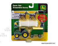 JD Farm Set 10pce Assorted