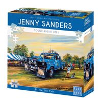 Jenny Saunders At The Ute Fair 1000 Piece Jigsaw Puzzle