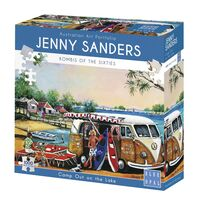 Jenny Saunders Camp Out On TheLake 1000 Piece Jigsaw Puzzle