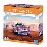 Jenny Saunders Pink Roadhouse 1000 Piece Jigsaw Puzzle