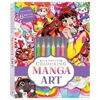 Kaleidoscope Colouring Kit: Manga