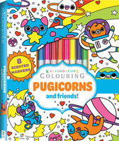 Kaleidoscope Colouring: Pugicorns and Friends