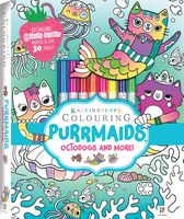 Kaleidoscope Colouring: Purrmaids Octodogs and More!