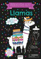 Llamas: Scratch Art