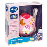 Lullaby Sheep Cot Light Pink
