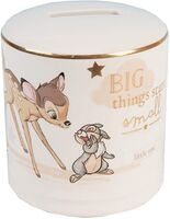Magical Beginnings Ceramic Bambi Money Box
