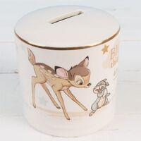Magical Beginnings Ceramic Bambi Money Box