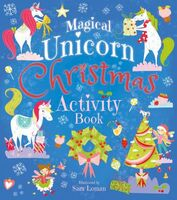 Magical Unicorn Christmas Activity Book