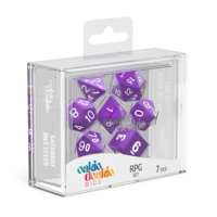 Oakie Doakie Dice RPG Set Solid - Purple