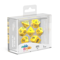 Oakie Doakie Dice RPG Set Solid - Yellow