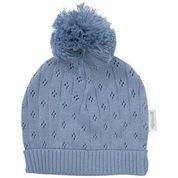 Organic Baby Knit Beanie - Blue