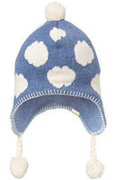 Organic Earmuff Cloud Beanie Denim