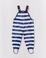Overalls - Ink Navy Stripe